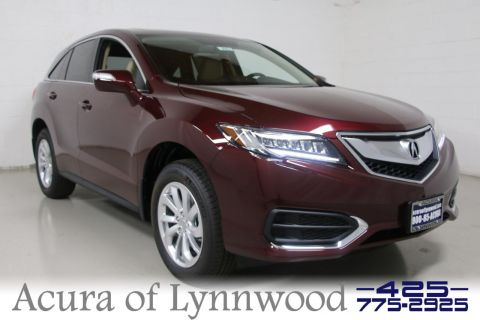 New 2018 Acura RDX w/Technology Pkg AWD